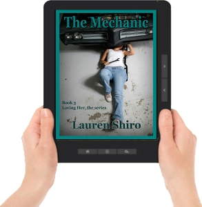 The Mechanic Ereader with hands
