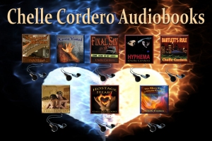Chelle Audiobooks on background March 2014