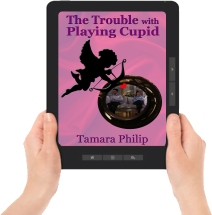 Cupid Ereader with hands