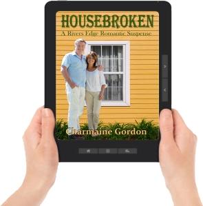 ereader graphic with hands Housebroken