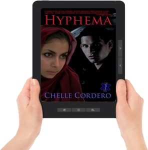 2015 Hyphema  ereader with hands