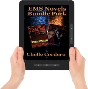 EMS Novels Bundle Pack ereader w hands