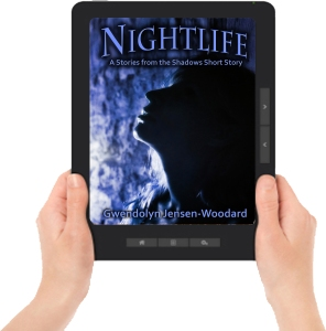 Nightlife CVR Ereader with hands